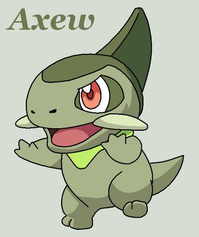Axew pokemon wallpaper