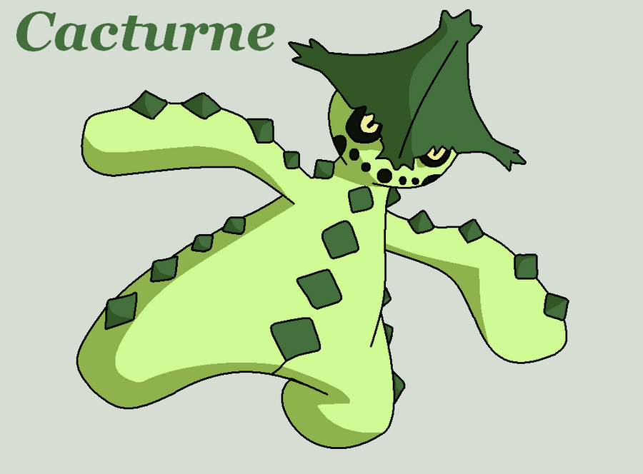 Cacturne by Roky320 on DeviantArt