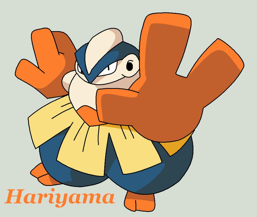 Hariyama by Roky320 on deviantART