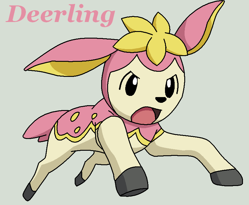 Pokemon Deerling All Forms Images | Pokemon Images