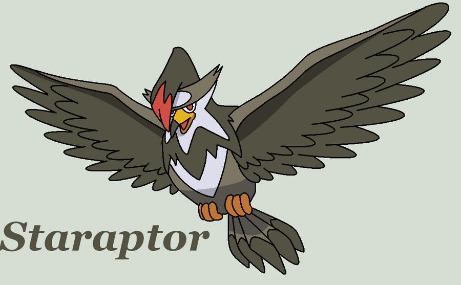 Staraptor by Roky320 on DeviantArt