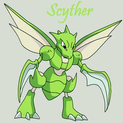 Scyther by Roky320