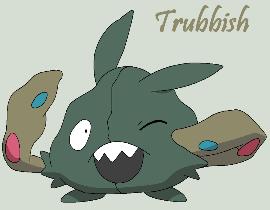 Trubbish Images | Poke...