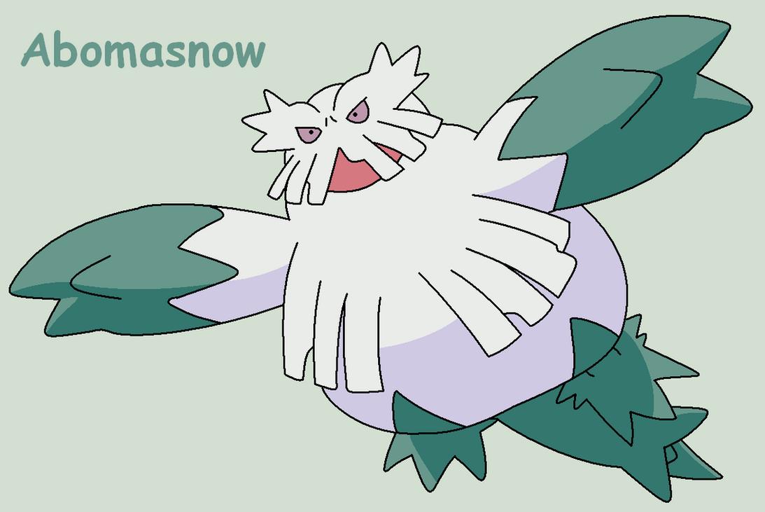 Pokemon Abomasnow Abomasnow by roky320