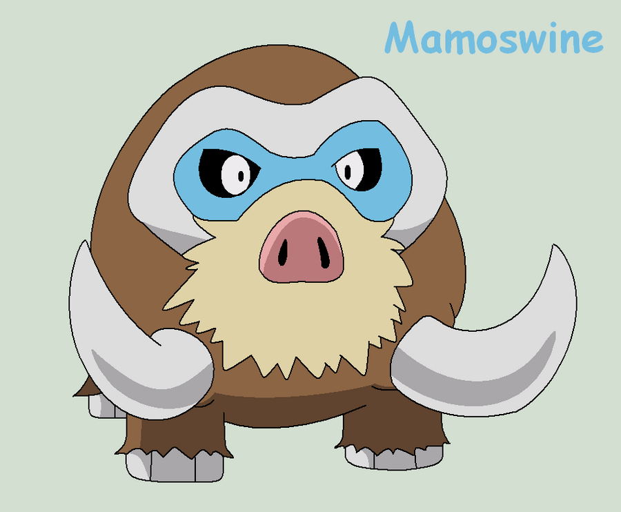 Mamoswine by Roky320 on DeviantArt