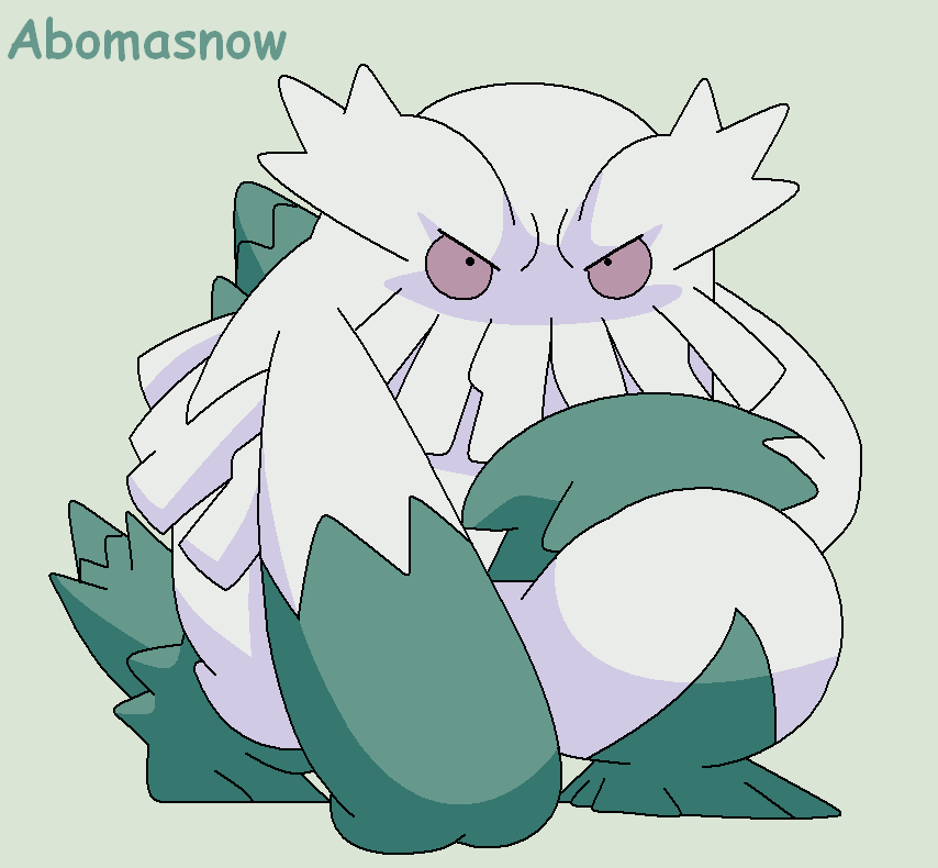 Go Back > Gallery For > Shiny Abomasnow