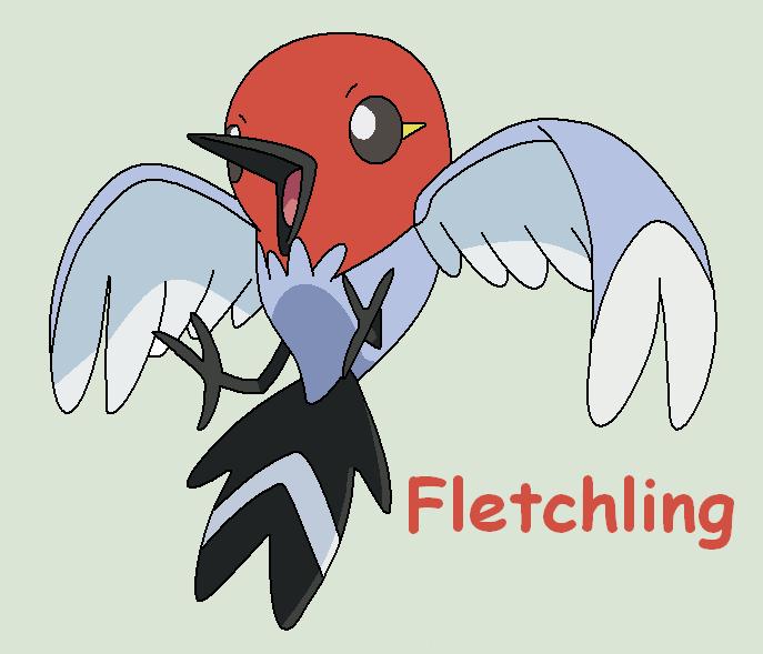 Fletchling by Roky320 on DeviantArt Fletchling