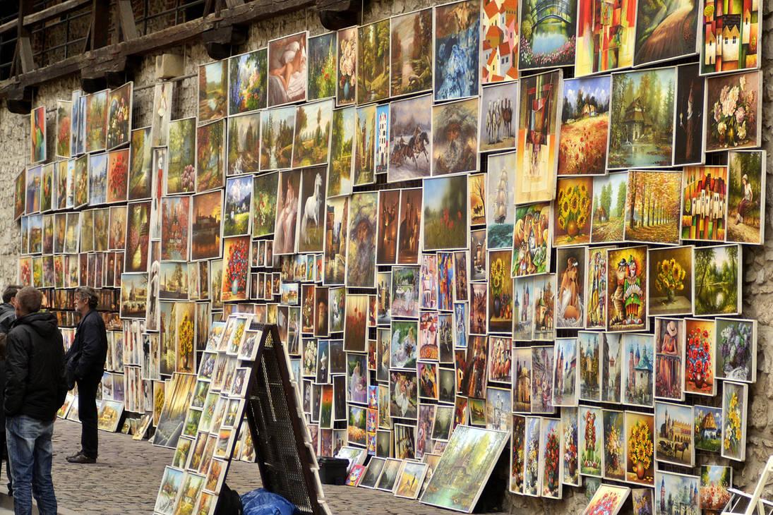 Wall of Art by Roky320