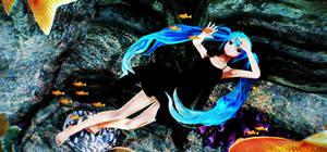 Deep sea girl by ShootingStarBlue