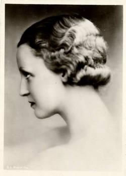 Vintage woman Miss Helm