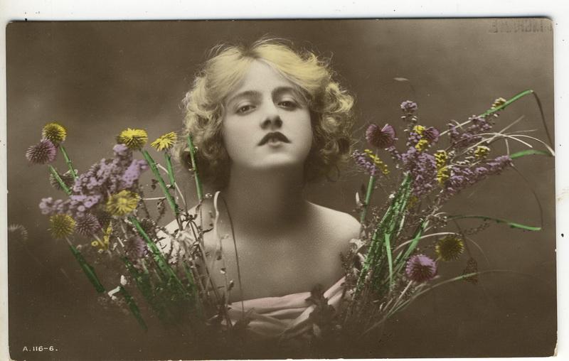 Vintage edwardian beauty XX by MementoMori-stock