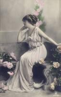 vintage greek goddess II by MementoMori-stock