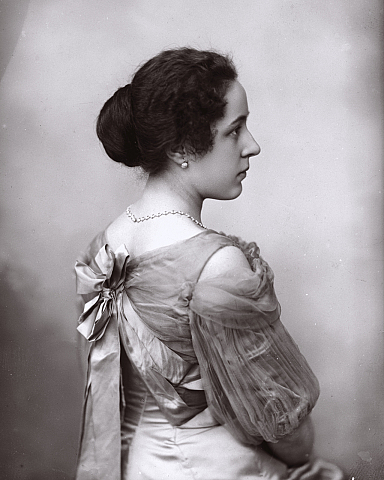 Vintage fancy edwardian lady I by MementoMori-stock