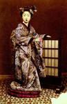 Vintage fancy japanese lady