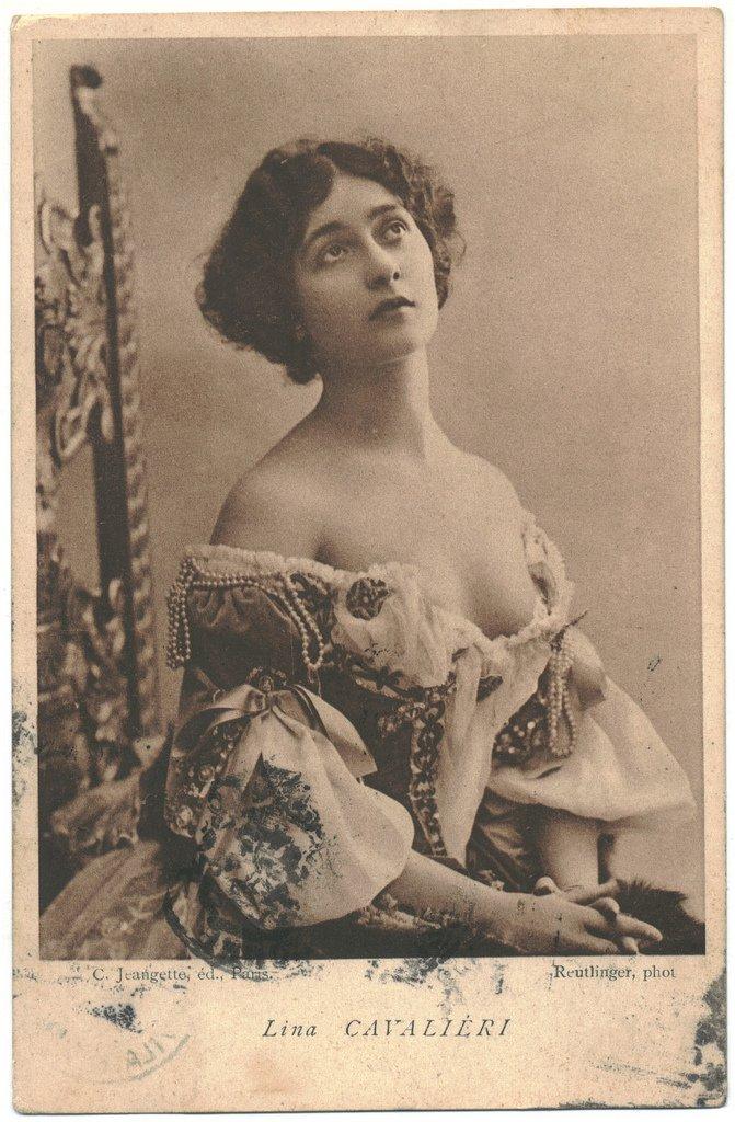 Vintage Lady Lina Cavalieri 9 by MementoMori-stock