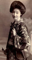 Vintage japanese lady IX by MementoMori-stock