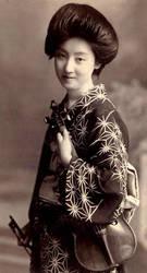 Vintage japanese lady IX