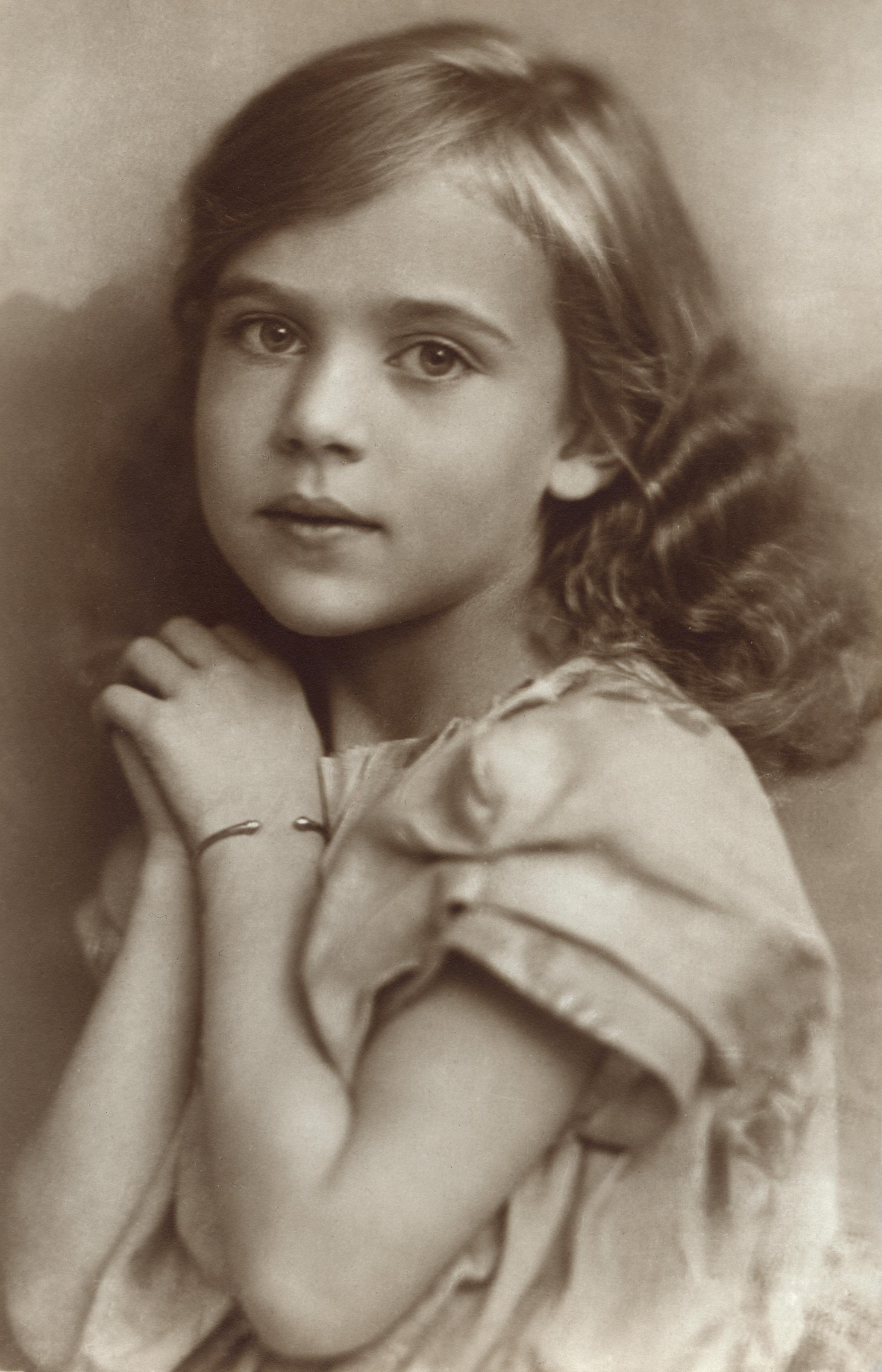Vintage Prinzessin Ingrid
