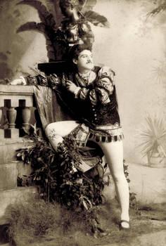 Vintage actor as Romeo