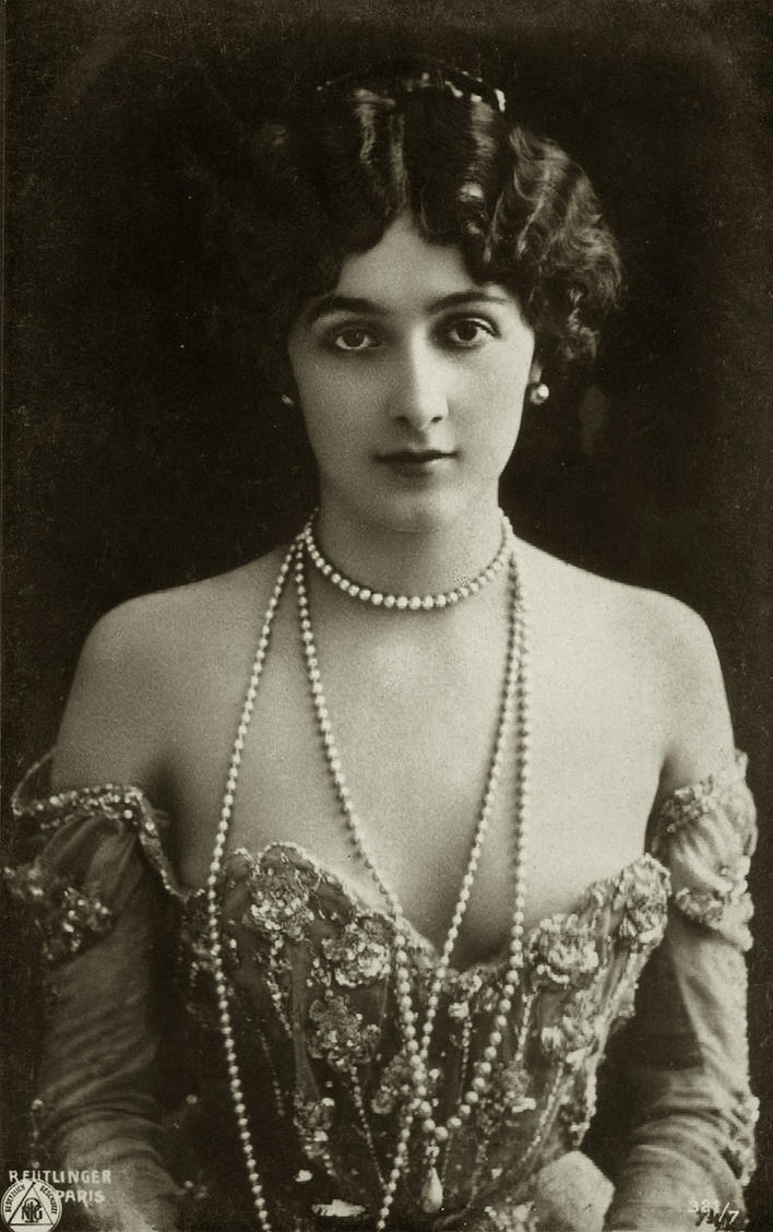 Vintage Lina Cavalieri 003 by MementoMori-stock