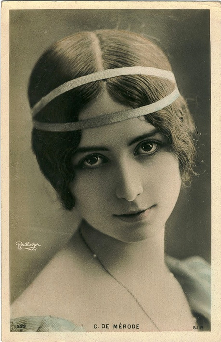 Vintage Woman Cleo De Merode003 By Mementomori Stock On