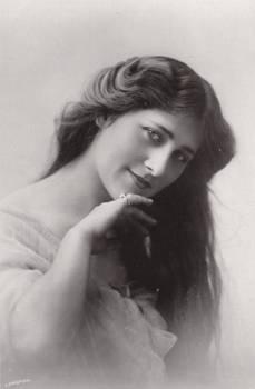Vintage actress Miss P Dare 003