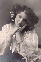 Vintage actress Miss Mabel Green.002
