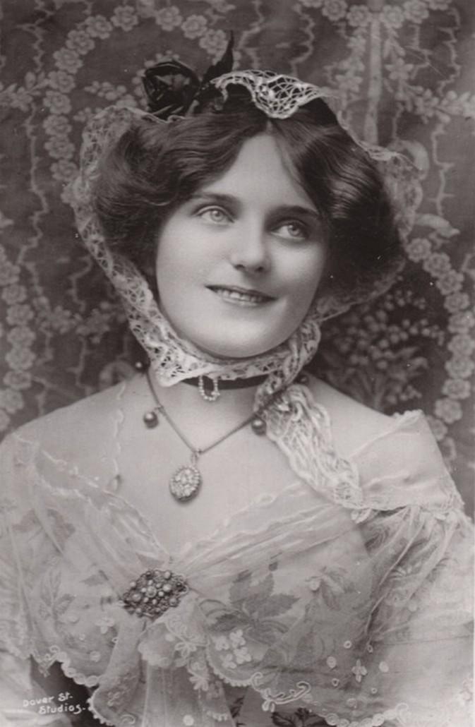 Vintage actress Miss Maie Ash 002 by MementoMori-stock