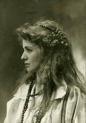 Vintage actress miss Adams.