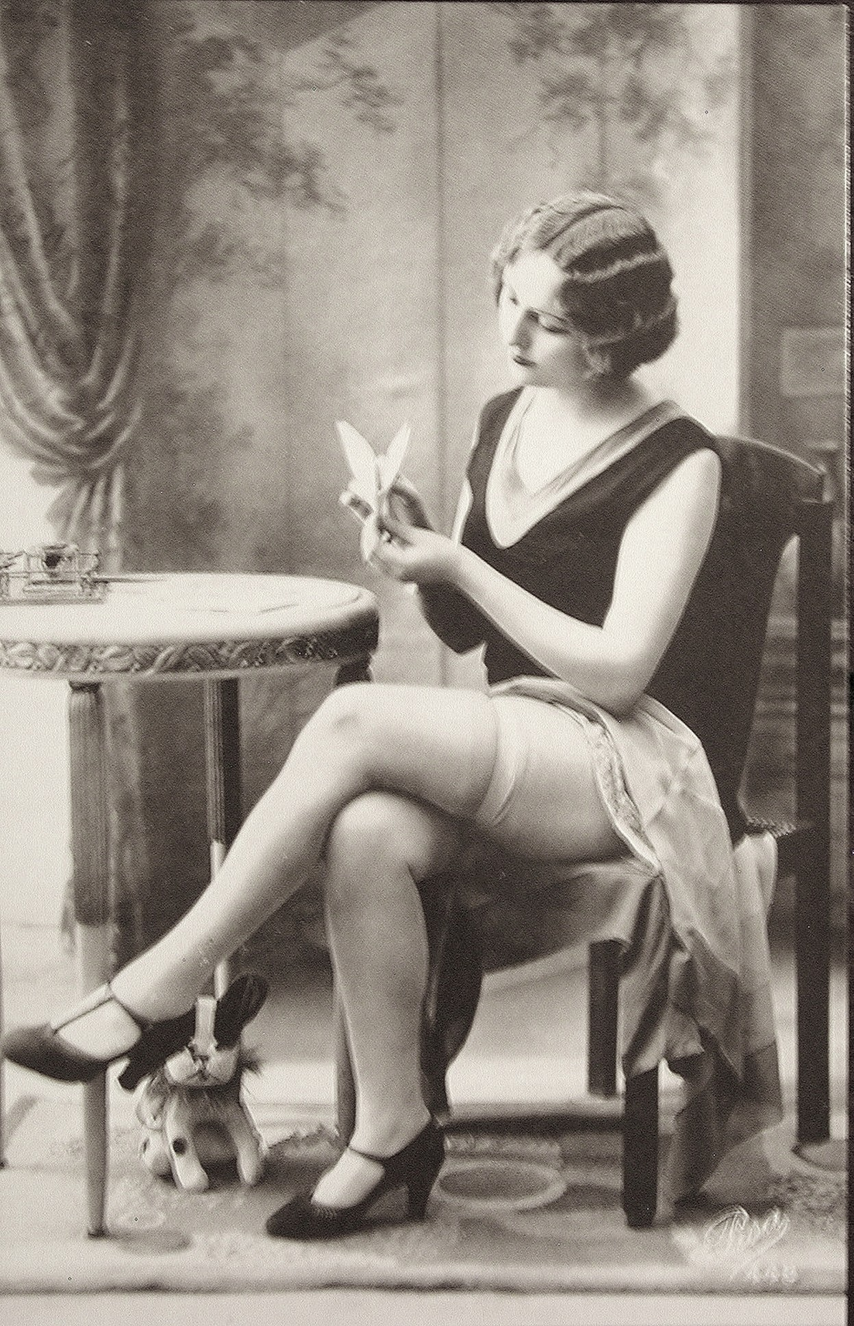 It's just a graphic of Impertinent Vintage Risque Photos