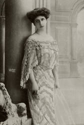 Vintage Edwardian fashionable lady 002 by MementoMori-stock