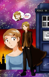 The twelfth Doctor by mirrowdothack