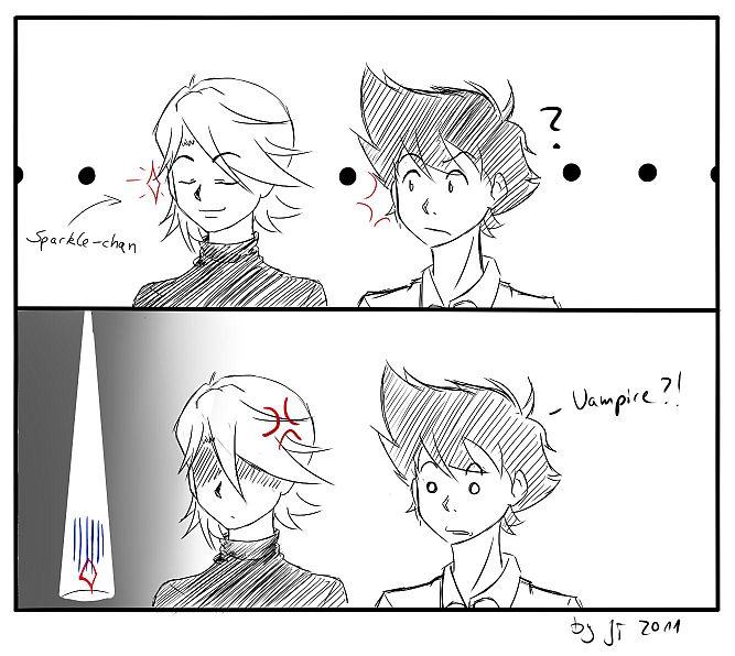 Sparkle-chan by mirrowdothack