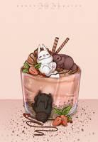 Sweet rabbits. by DersvingMoraine