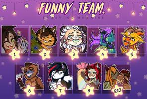 Funny team. by DersvingMoraine