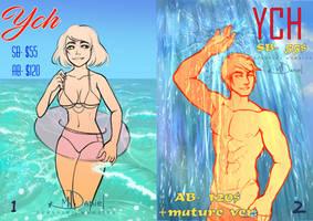 Collab-YCH 2021 #1-2. [OPEN] by DersvingMoraine