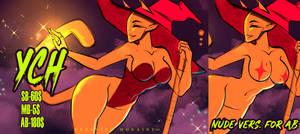 YCH 2021 #8 Halloween theme - Night Magic. by DersvingMoraine