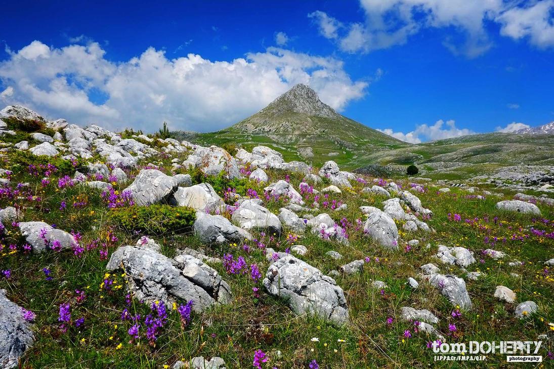 Monte il Bolza, Abruzzi, Italia by PicTd