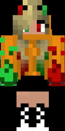Minecraft Skin#2 by Crystalthehedgehog9