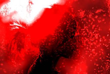 Red Girl Wallpaper