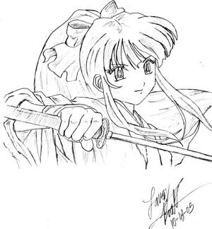 Kutie with a Katana