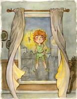 Peter Pan by mirror2rorrim