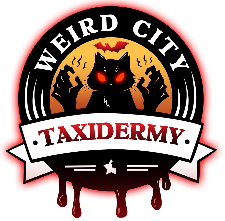 WCT Logo Halloween 2015 by WeirdCityTaxidermy