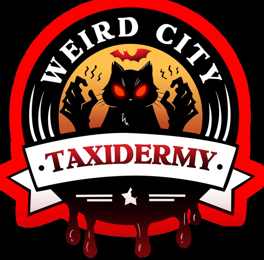 WCT Logo Halloween 2015 by WeirdCityTaxidermy
