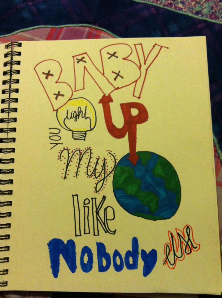 Baby You Light Up My World Like Nobody Else by MzMellark12 ...