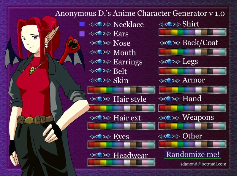 Как создать свой аниме аватар