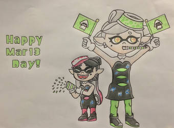 Happy Mar13 Day! by NutshellsArtwork