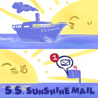 S.S. SunshineMail Logo by NAD-LifeOfficial