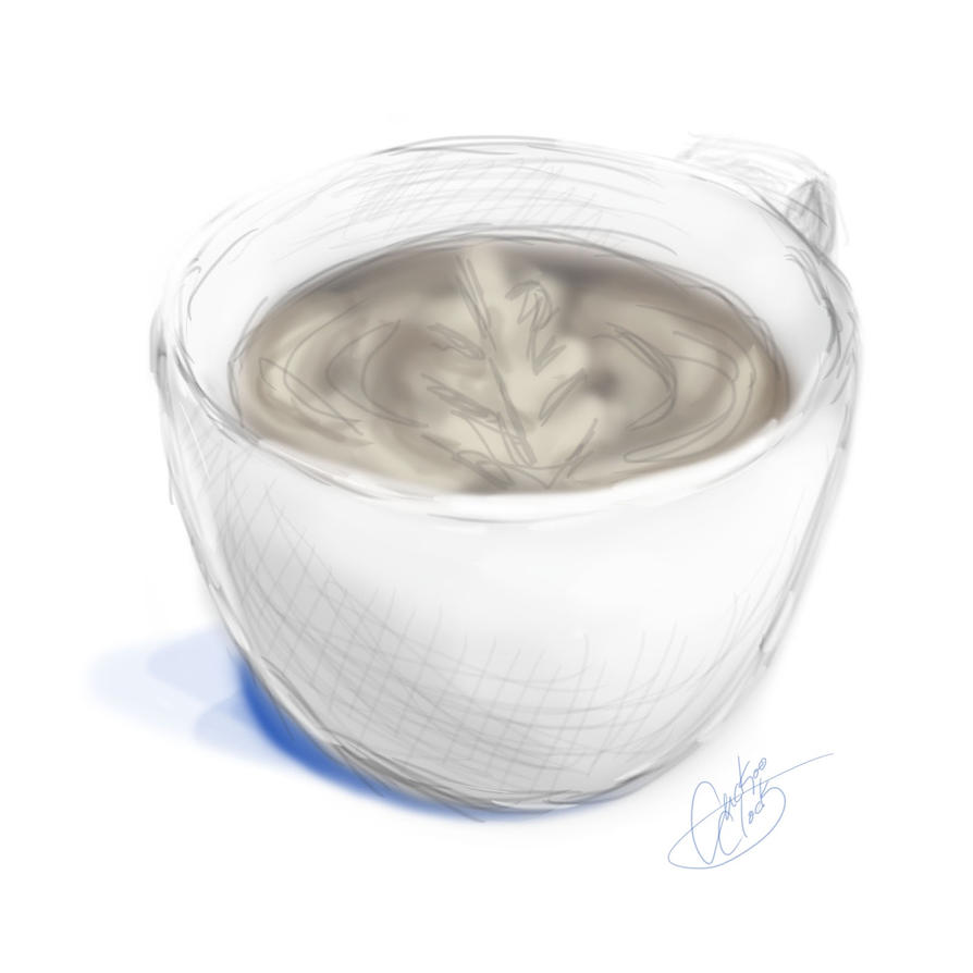 Sketches: cup-a-coffee by NAD-LifeOfficial
