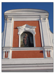 Picture on the church